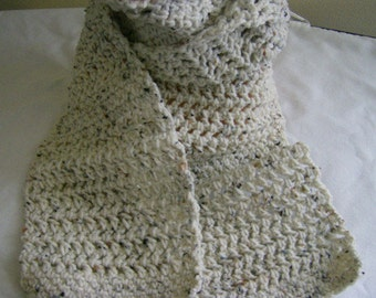 Crochet Scarf for Ladies, Women or Teen - Stylish and Warm for Winter Long Scarf