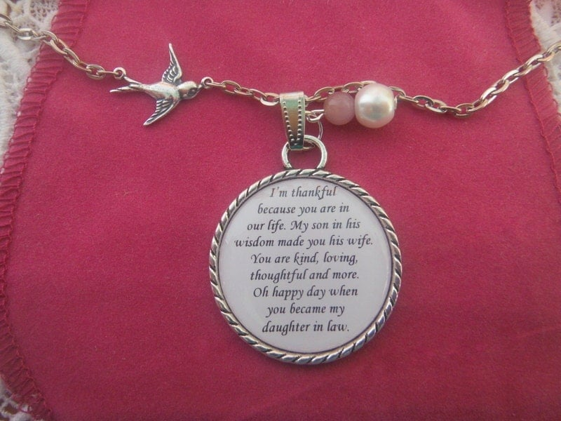 Ideas For Wedding Gift For Daughter : Wedding Gifts For Daughter In Law Daughter In Law Necklace