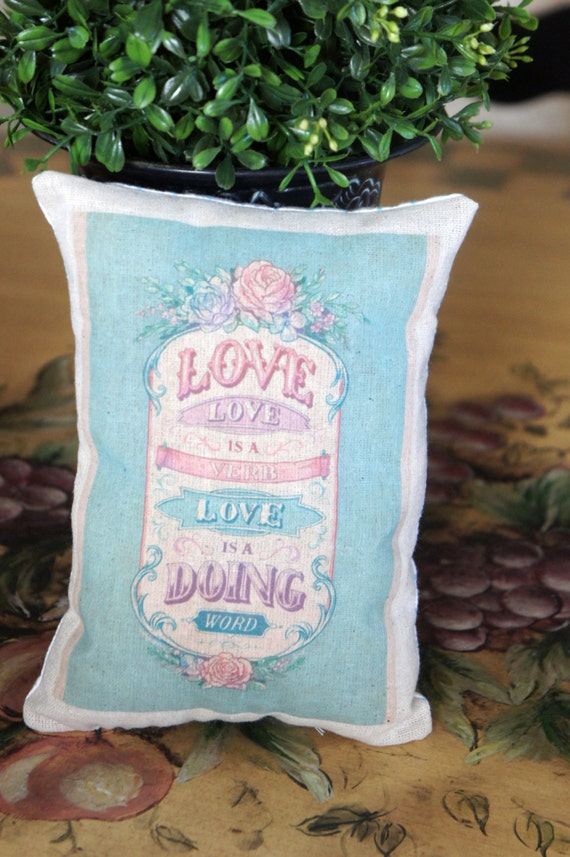 Love Mini Pillow