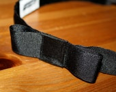 Classy and Feminine {Black} Bow Headband - Non-slip - Put a Bow on it! - Wear for work or play!