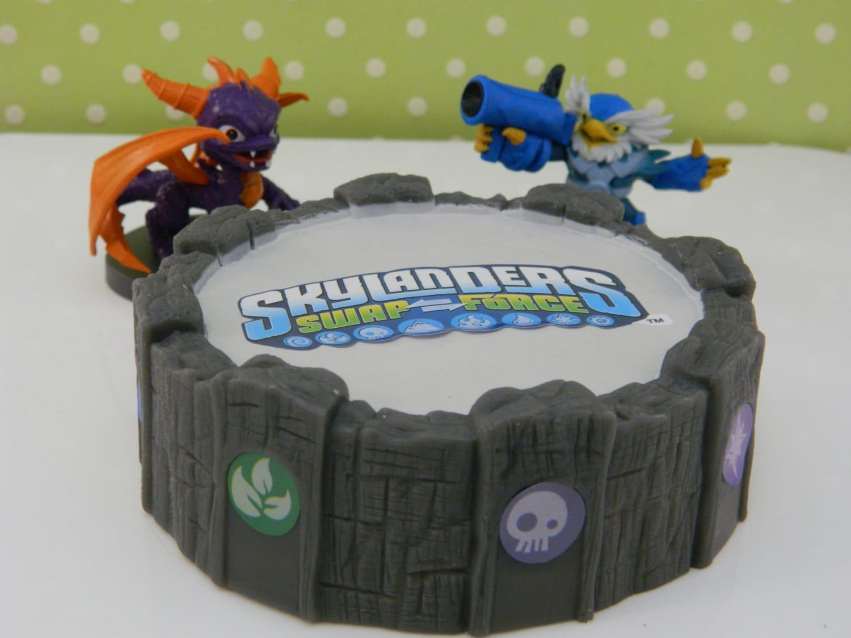 Cake Decorating Character Kits : Skylanders Swap Force Cake Kit / Cake Topper / Cake Decoration