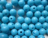 SALE - Acrylic Beads 8mm 20 Beads