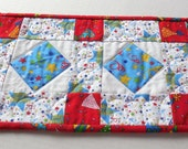 Birthday Table Runner-Reversible-Free Shipping to US and Canada