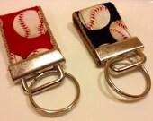 Mini Fabric Keychain - Baseball