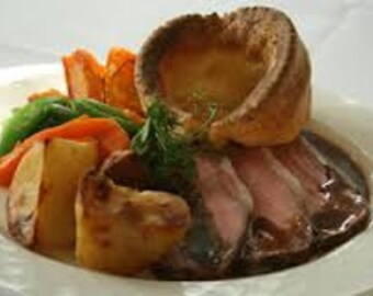 Mouth Watering English Yorkshire Pudding