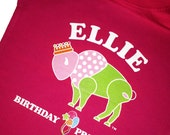 Custom Birthday t-shirt Buffalo Princess balloons Personalized Name fun