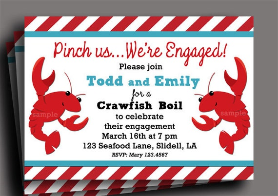 Unforgettable image throughout crawfish boil invitations free printable