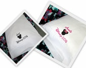2 Custom Disney Cruise Autograph Pillowcases Mickey or Minnie Disney Autograph Pillows Case Boy or Girl