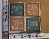 Rubber Stamp - Hero Arts - Traditional Holiday Messages