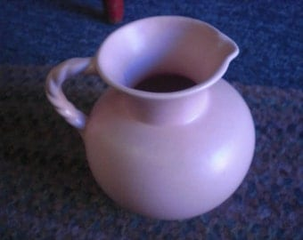 Pink Pottery Royal Haeger Pitcher
