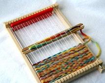 Natural Weaving Loom for Children - wooden loom children chraft weavingloom