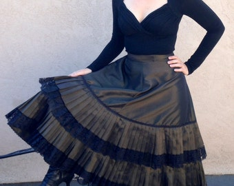 Cosplay, Steampunk, Edwardian, Victorian Walking Skirt