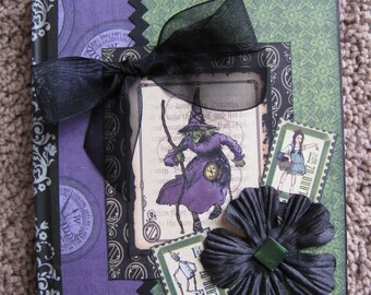 Wicked Witch Vintage Look Journal - Graphic 45