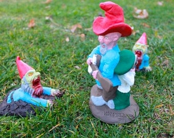 Zombie Gnomes: ZombieLawn FREE USA SHIPPING