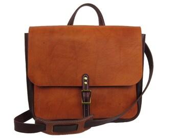 Messenger Mailman Bag Leather