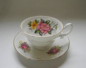 RESERVED - TEACUP, Vintage Royal Grafton, Bone China Teacup