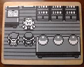 A3 The Hardest Decision Of All Time black and white Pokemon art  - No frame