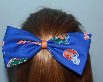 University of Florida Gators Hair Bow/Hair Clip Accessory