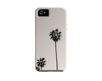 iPhone 7 case, iPhone 7 plus case iPhone 6s case, iPhone 6 case, palm trees, Galaxy S7 Case, LA black and white, Galaxy S6 case, Note 4 case