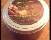 Greentea/Lemongrass Soy Wax Candle - 8oz Tin Scented Candle