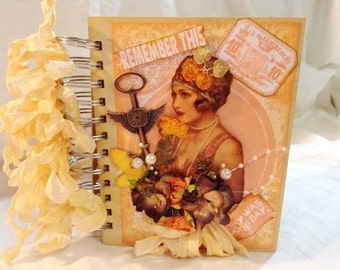 Shabby Vintage Mini Album/Journal