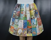 Children's Picture Books skirt - made to order