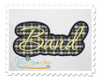 Band Applique Script