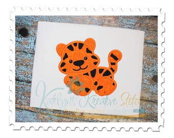 Tiger Applique