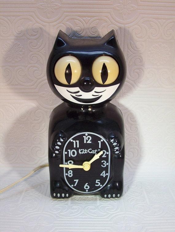 Vintage Kit Cat Clock California Clock Co San Juan Capistrano