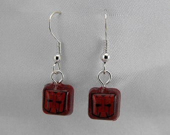 Transformers Resin Earrings - Autobot