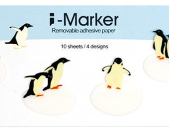 Translucent Penguin Post-it / Sticky Notes / Memo