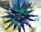 Handmade Settle Seahawks Ornament or Rear View Mirror Charm