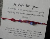 Multi-string with Itty Bitty Evil Eye Bracelet  - Protects you from danger and misfortune