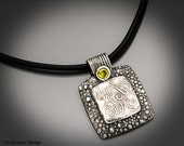 Golden Moment - Sterling Silver & Yellow Citrine Necklace