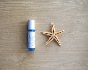 Mar Azul Perfume Oil, Roll On Perfume, Limited Edition Summer Fragrance