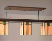 Bungalow Style Billiard Light Fixture
