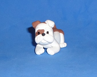 Polymer Clay Bulldog