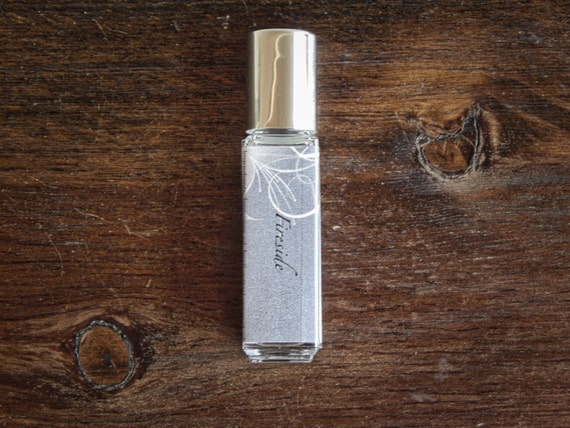 Fireside Perfume Oil - Woodsmoke, Campfire, Leather, Musk - Gift for him, Gift for her - 8mL