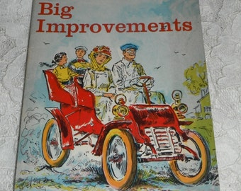 Father's Big Improvements by Caroline D. Emerson Vintage Scholastic Book TX264