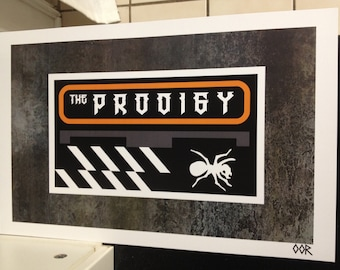 The Prodigy band poster print