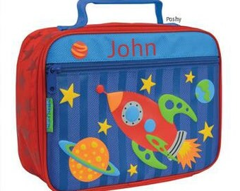 Personalized Lunch Box Bag Stephen Joseph Space