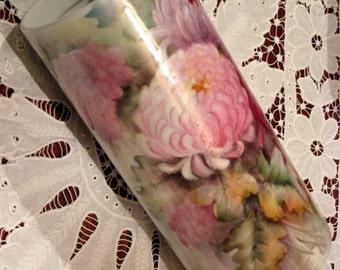Vintage Chrysanthemum Vase