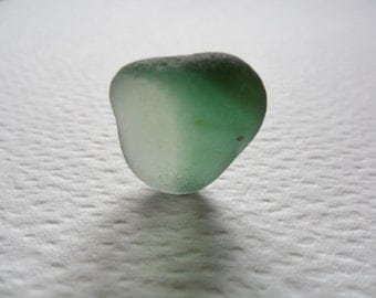 SALE Beautiful soft green sea glass multi  - Flawless & unusual English beach find piece