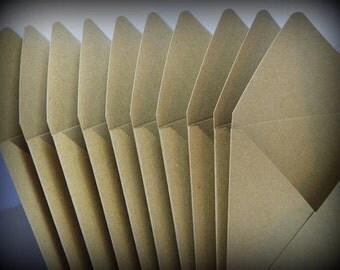4x4 Kraft Envelopes