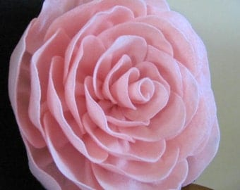 SUZANNAH ROSE Felt Flower Pillow Pattern and 2 Bonus Pillow Covers Tutorial PDF ePattern How To