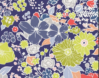 Chic Flora fabric 1/2 yard collection from Art Gallery Fashion Scent Electric CF-30032