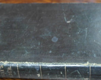 antique leather bound murry's reader 1846 english reader pieces in prose and poetry