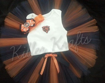 Chicago Bears inspired tutu outfit