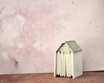 The House that Book Built, mini handbound journal