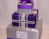 Elegant Custom Made Wedding Card Box-any color/design